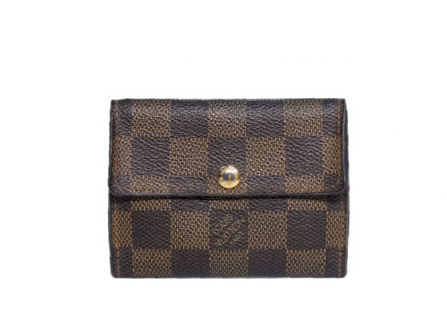 Louis Vuitton N62925 Damier Canvas Ludlow Coin Case (CT2057)-0
